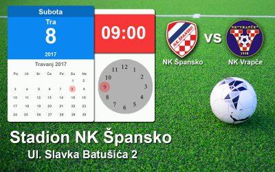 Najava utakmice NK Špansko vs NK Vrapče