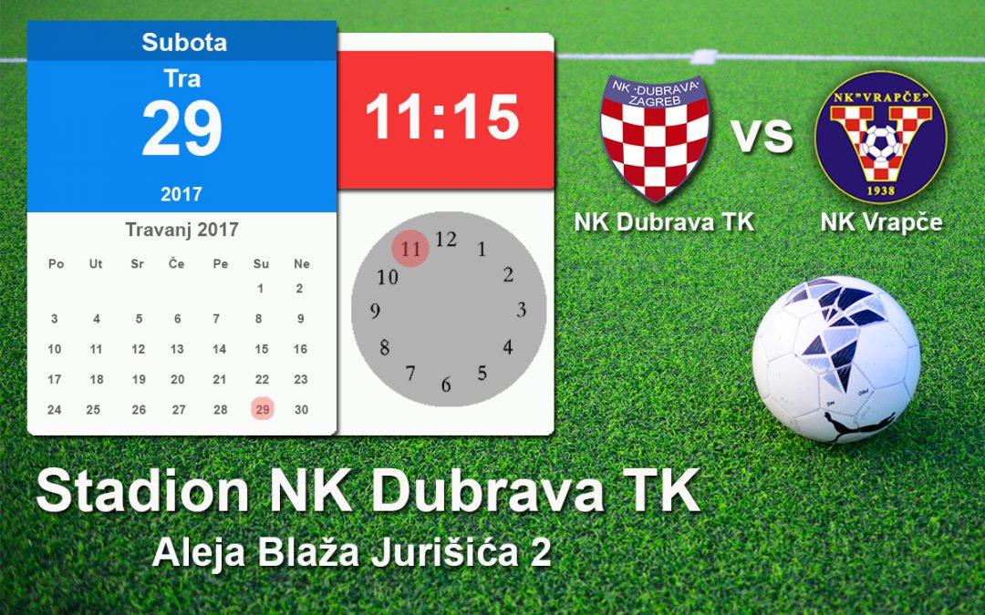 NK Dubrava TK vs NK Vrapče
