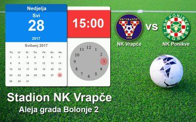 Najava utakmice NK Vrapče vs NK Ponikve