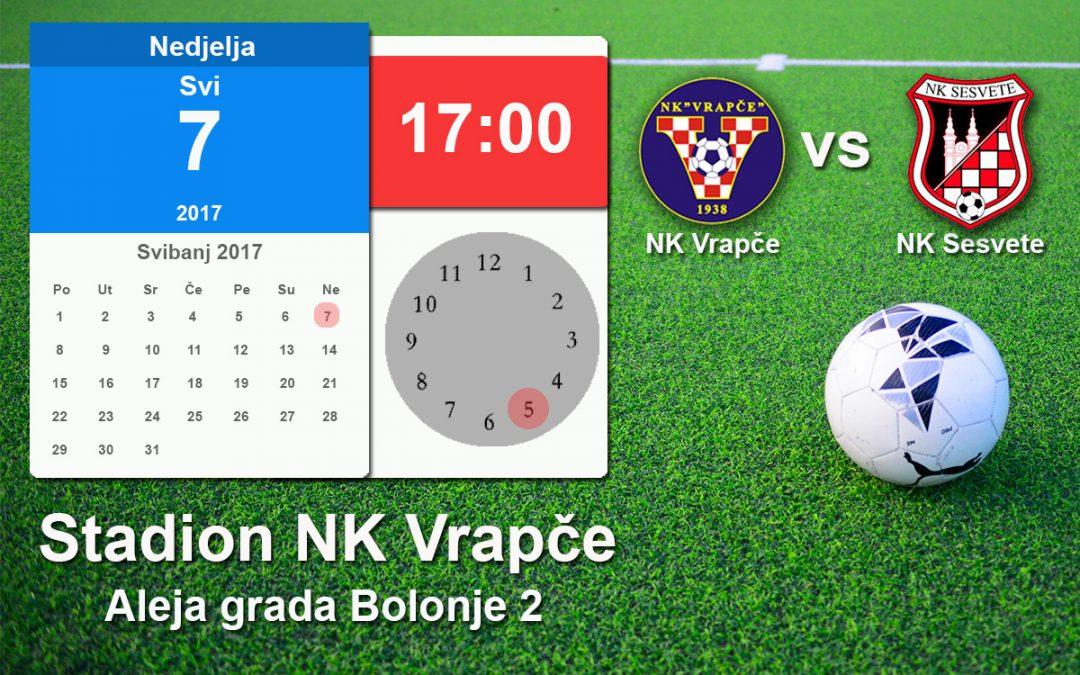 Najava utakmice NK Vrapče vs NK Sesvete