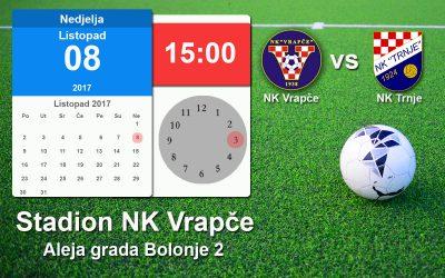 Najava utakmice NK Vrapče vs NK Trnje