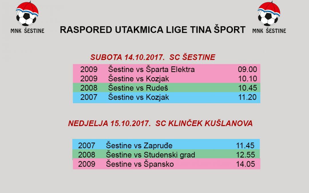 Raspored Lige Tina Šport
