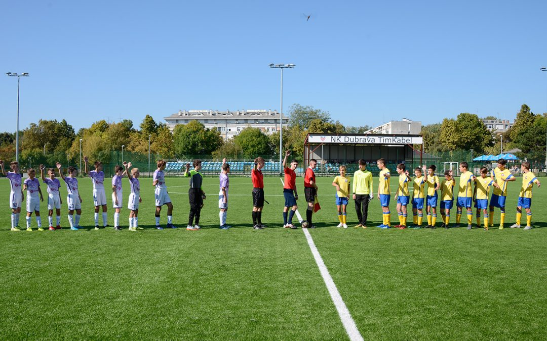 NK Dubrava vs NK Vrapče 2:2