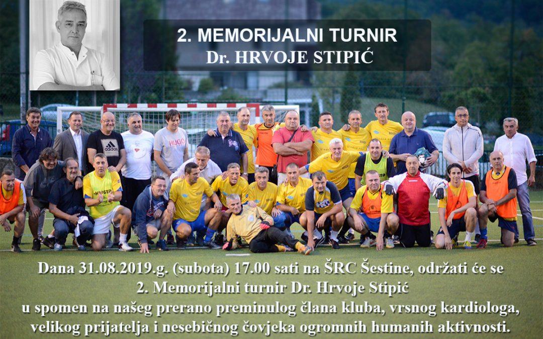 2. Memorijalni turnir Dr. Hrvoje Stipić